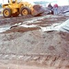 Soil was completely inert, and was laid on polyethylene liner