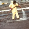 Burlington Environmental cleanup contractor applied OSE II to contaminated soil