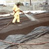 Cleanup personnel were required to wear rubber suit by their company. However, this was not necessary